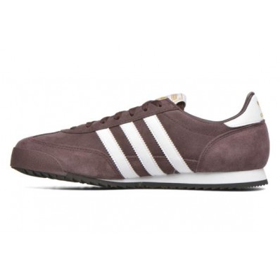 adidas dragon marron