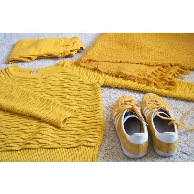 adidas gazelle femme moutarde