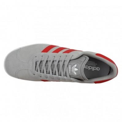 adidas gazelle gris rouge
