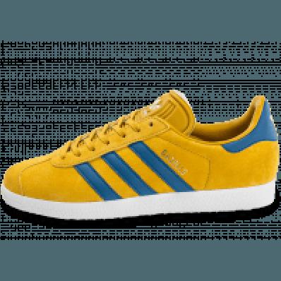 adidas gazelle jaune moutarde femme