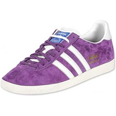 adidas gazelle violette