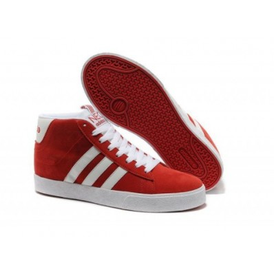 adidas neo rouge homme