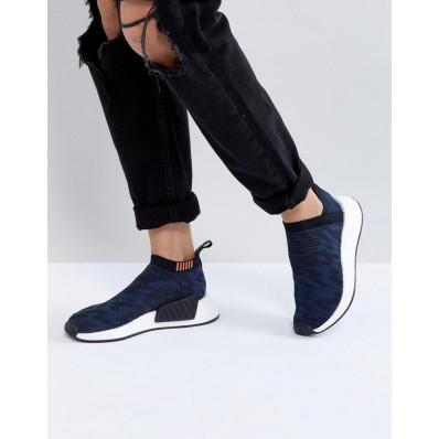 adidas nmd bleu femme