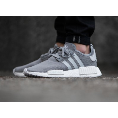 adidas nmd grise et blanche