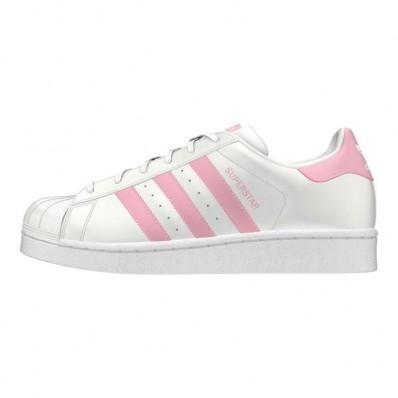 adidas superstar femme bande rose