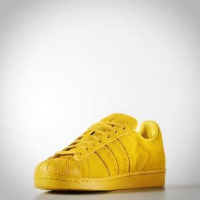 adidas superstar femme jaune