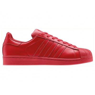 adidas superstar femme rouge et bleu