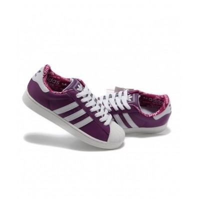 adidas superstar femme violette