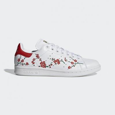 adidas superstar flower embroidery - femme