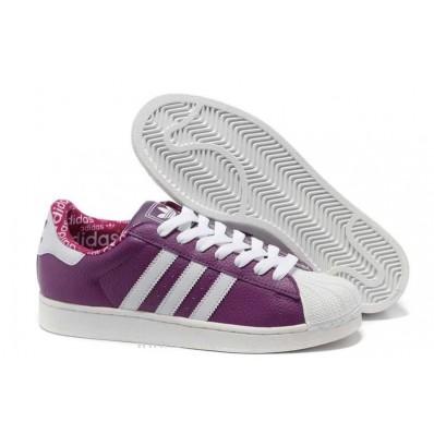adidas superstar violet femme