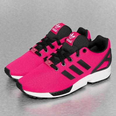 adidas zx flux femme grise et rose