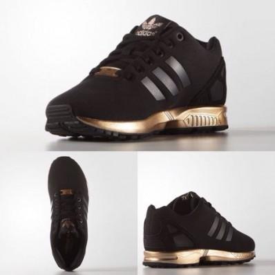 adidas zx flux femme noir bronze