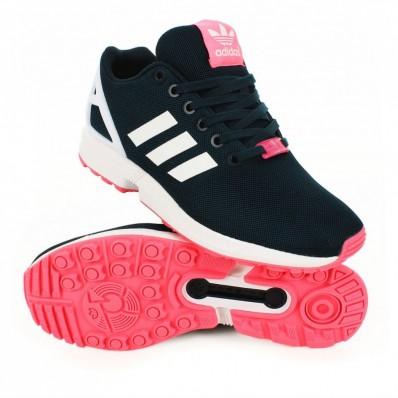 adidas zx flux rose femme