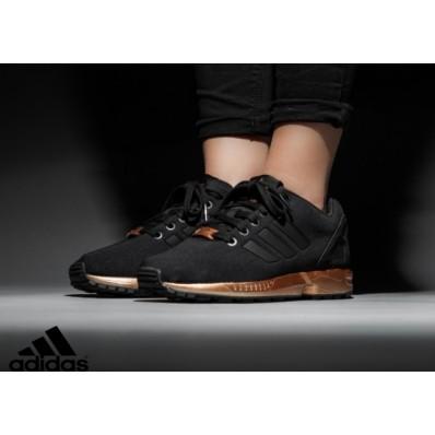 basket adidas zx flux femme noir