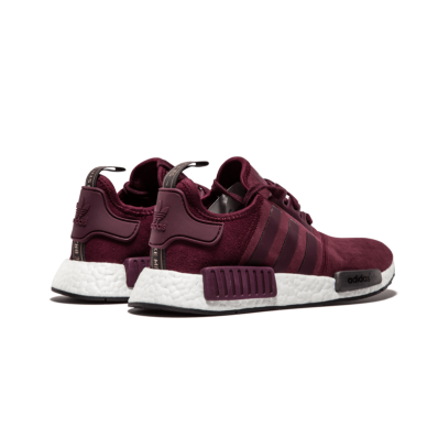 chaussure adidas nmd r1 femme bordeaux blanc