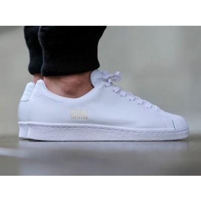 chaussure blanche adidas femme