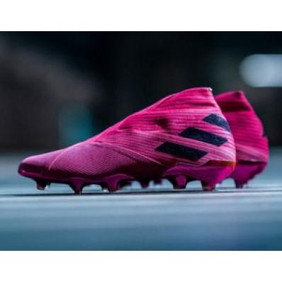 chaussure football adidas rose
