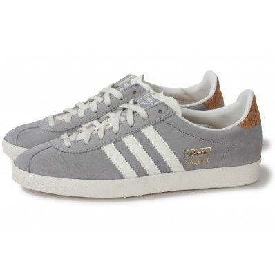 gazelle adidas femme grise