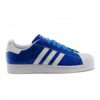 superstar femme adidas bleu