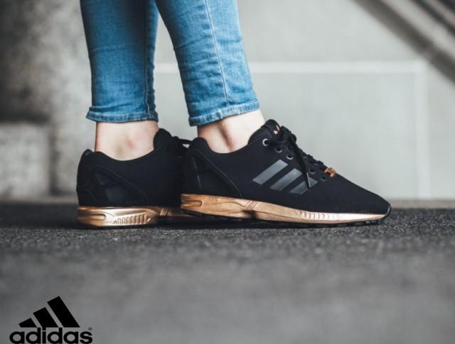 adidas zx flux noir et doré