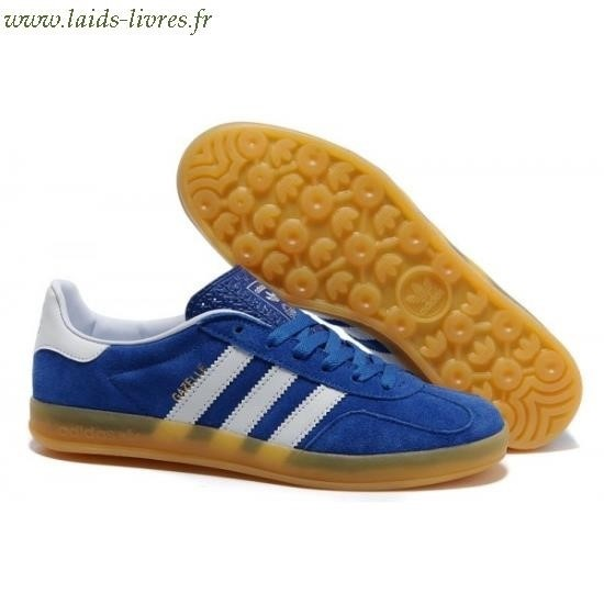adidas gazelle bleu semelle marron