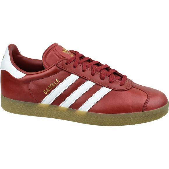 adidas gazelle rouge cuir