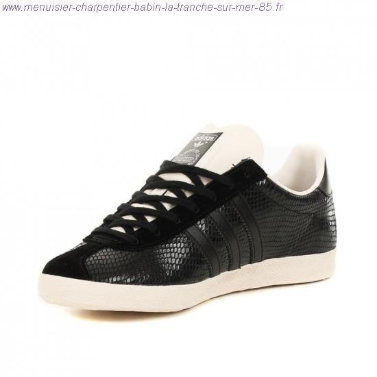 adidas gazelle femme cuir noir
