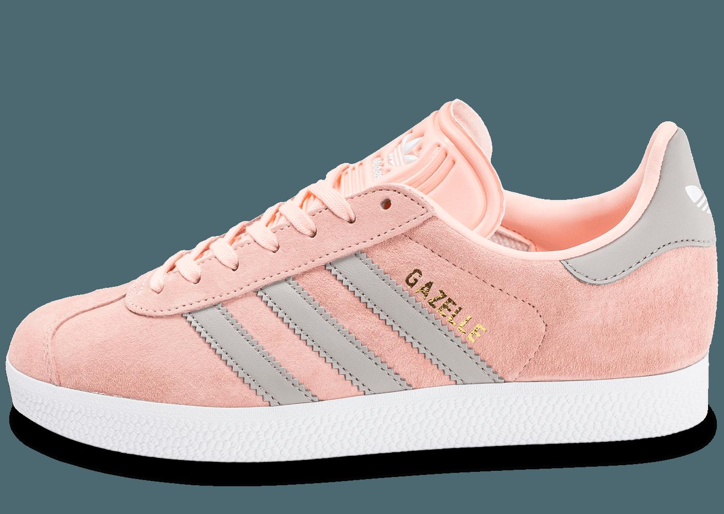 chaussure adidas gazelle rose