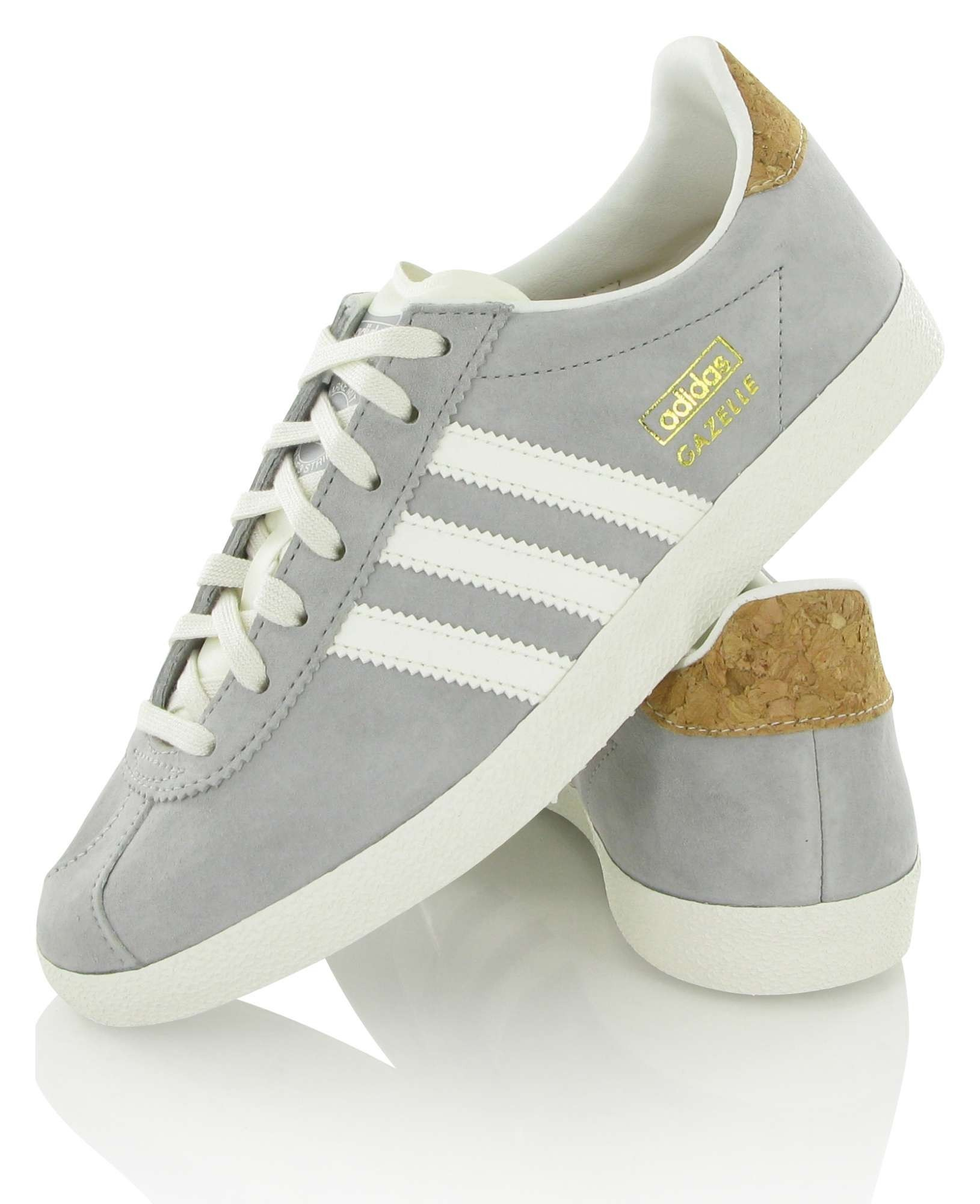 adidas gazelle femmes grise