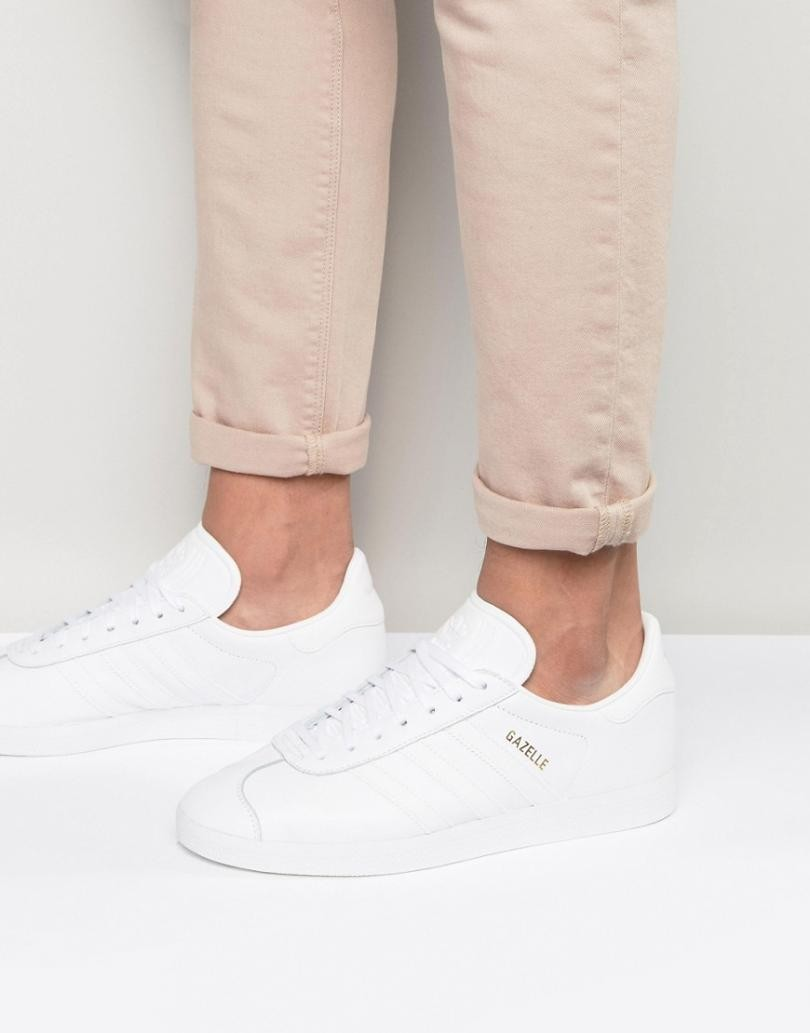 adidas homme gazelle blanche