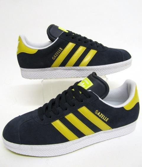 adidas gazelle bleue et jaune
