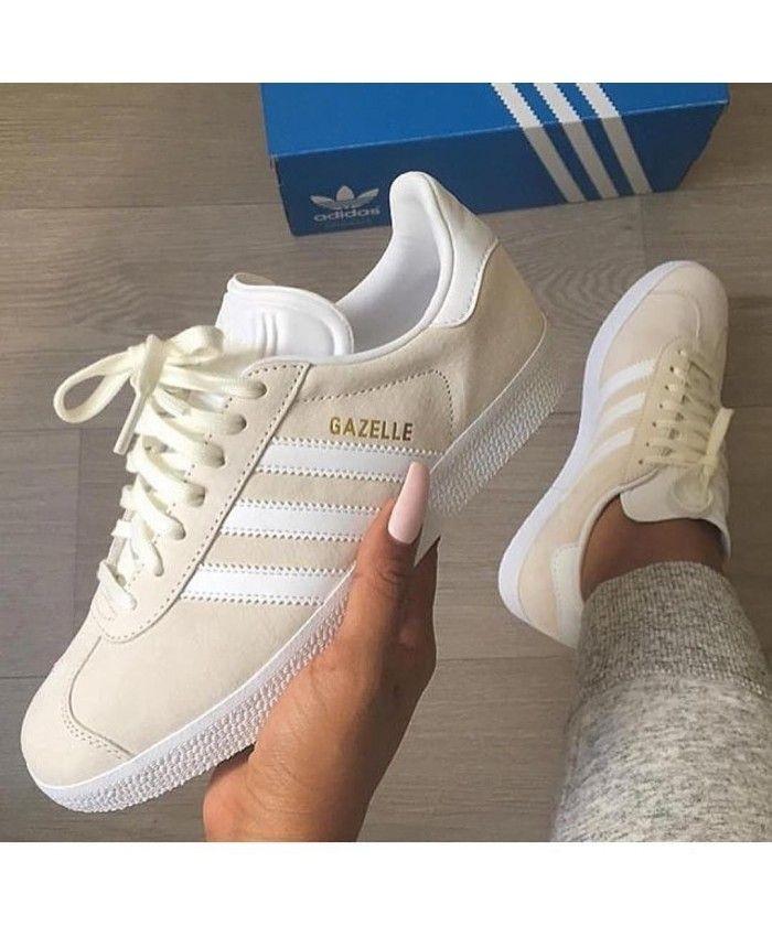 chaussure femme beige adidas