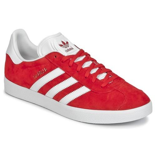 adidas femme gazelle rouge