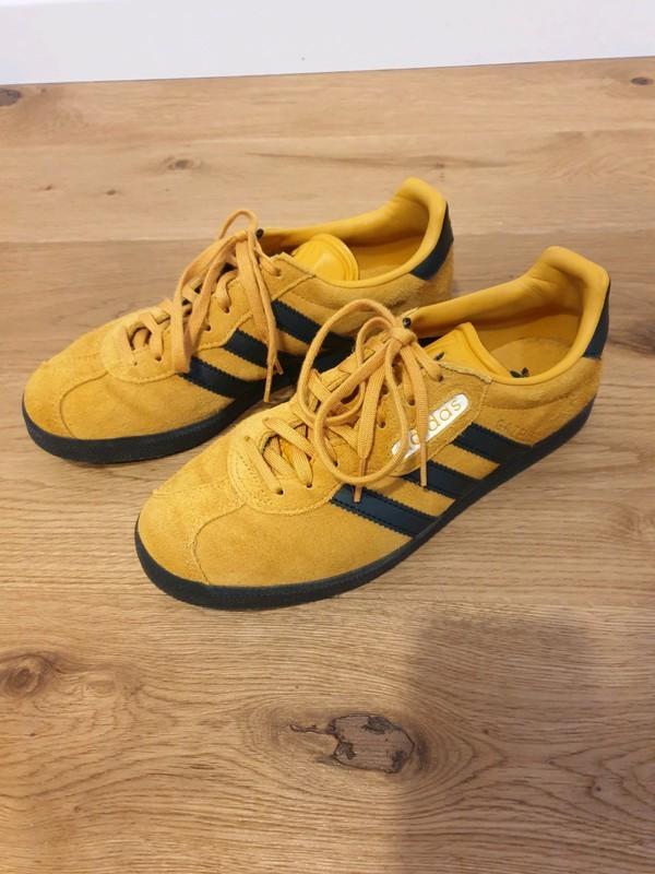 adidas gazelle super jaune