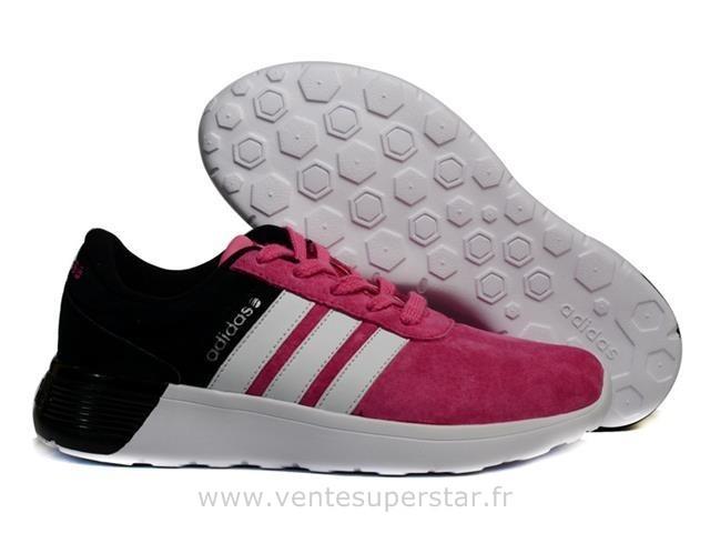adidas neo noir et rose