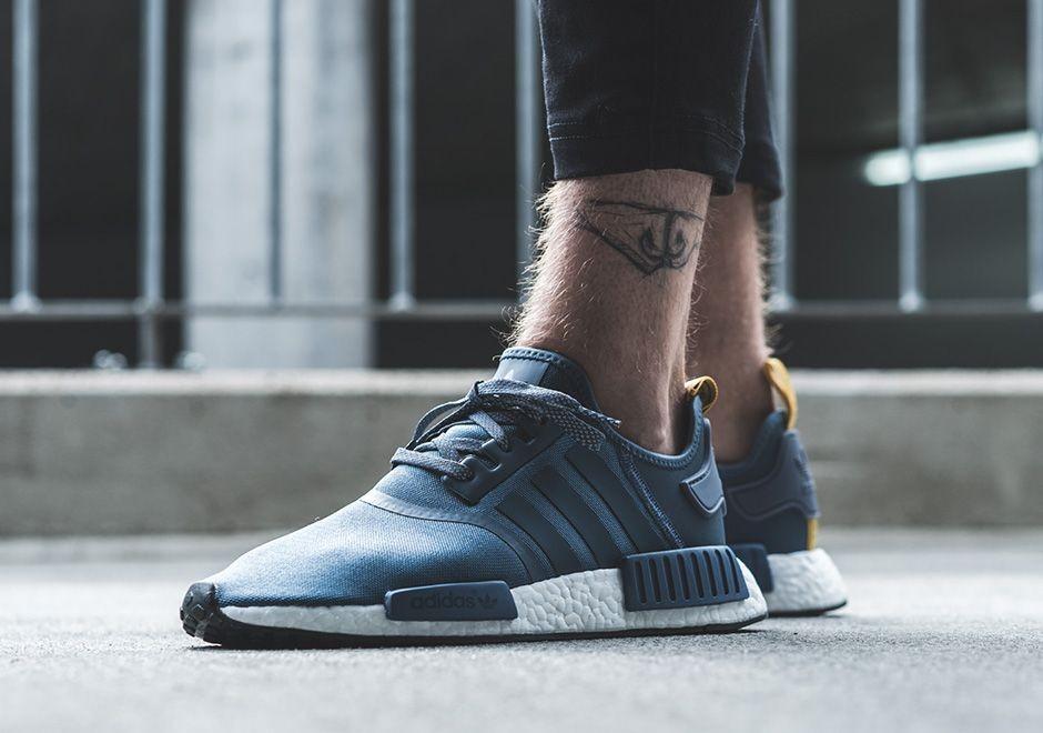adidas nmd r1 Bleu homme online