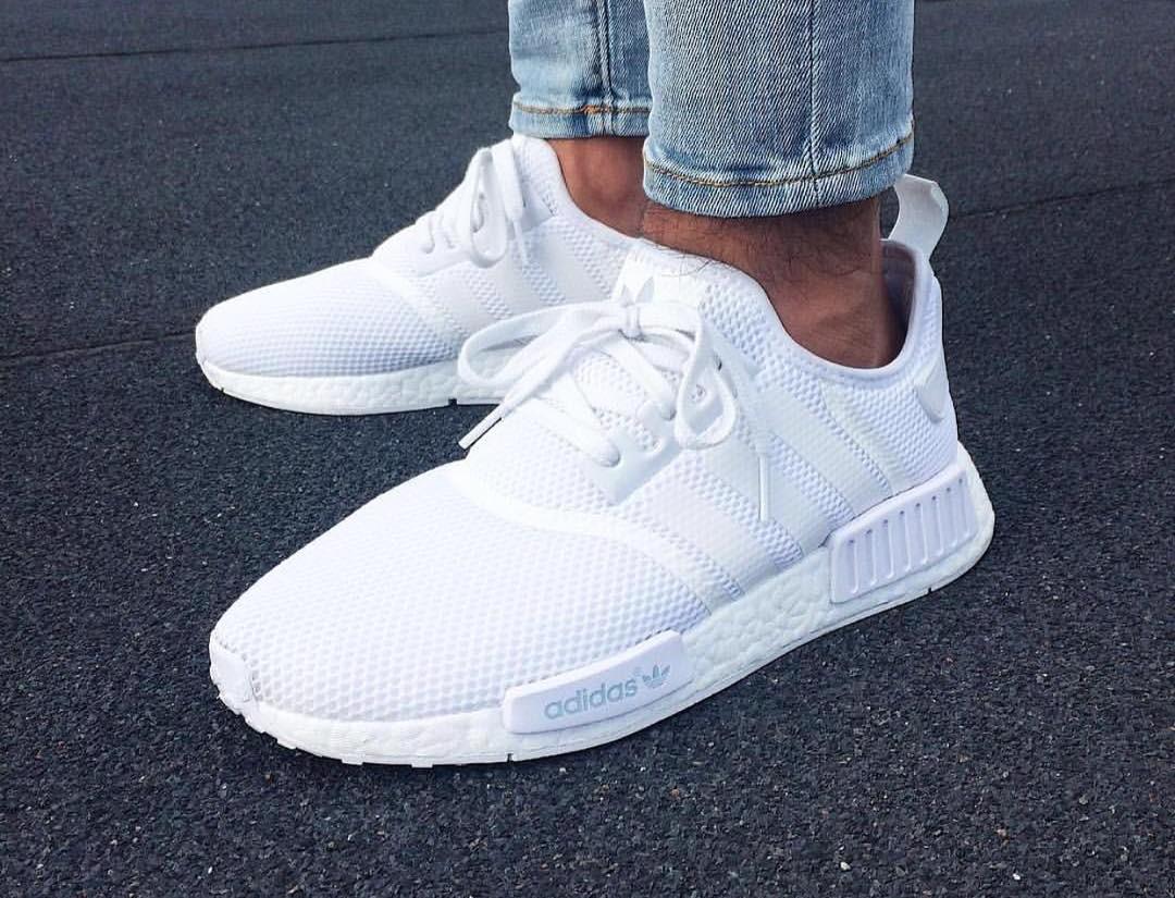 adidas nmd r1 primeknit blanche online