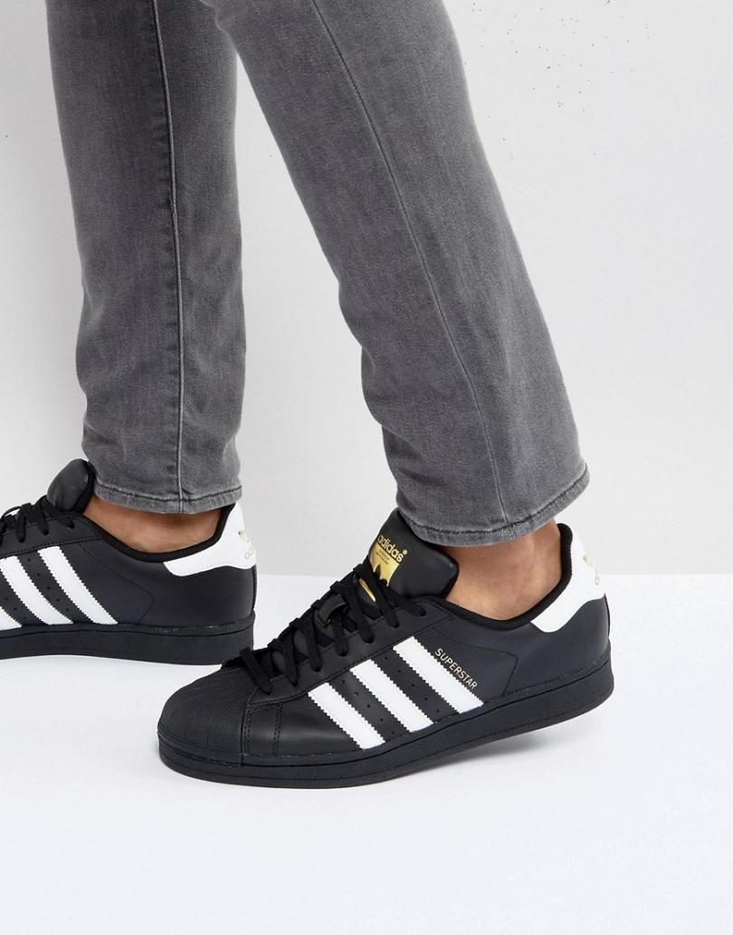 adidas original superstar noires