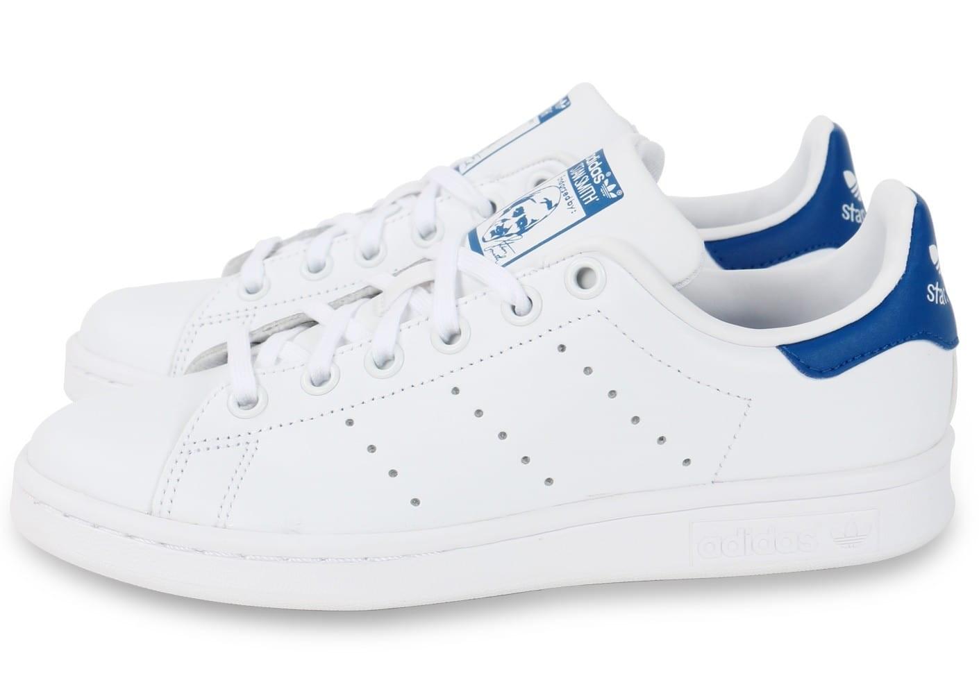 adidas stan smith enfant bleu