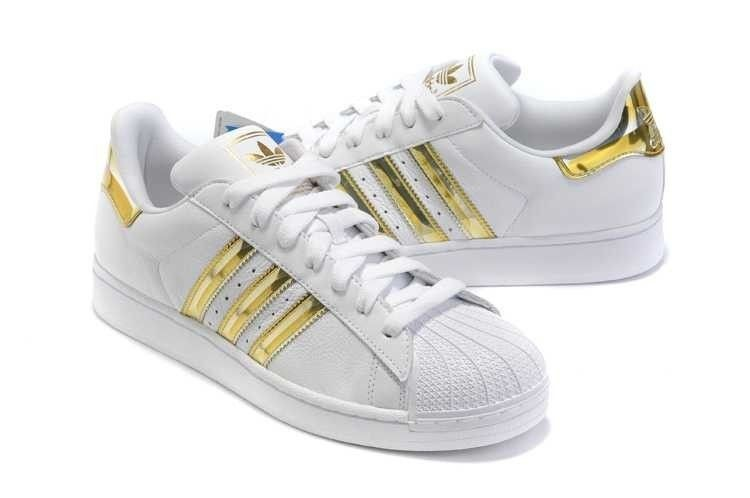 adidas superstar blanche et or Cheaper Than Retail Price> Buy ...