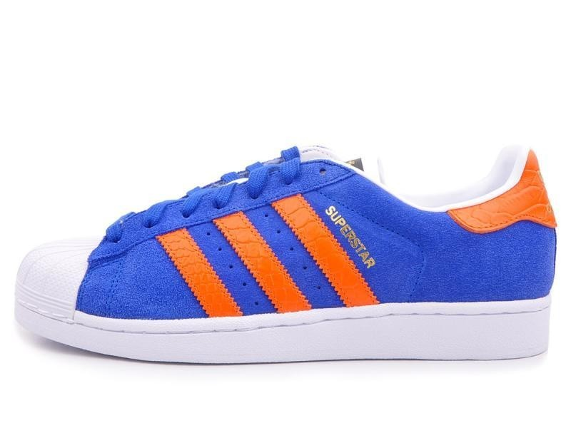 adidas superstar bleu et orange online