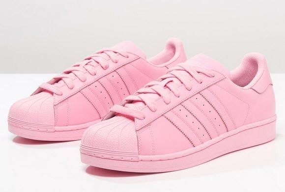 adidas superstar femme rose et blanc
