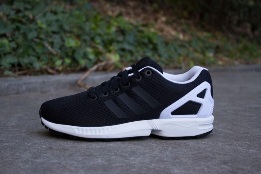 adidas zx flux noir blanc