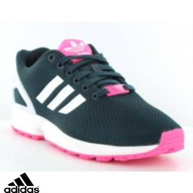 basket adidas rose fluo