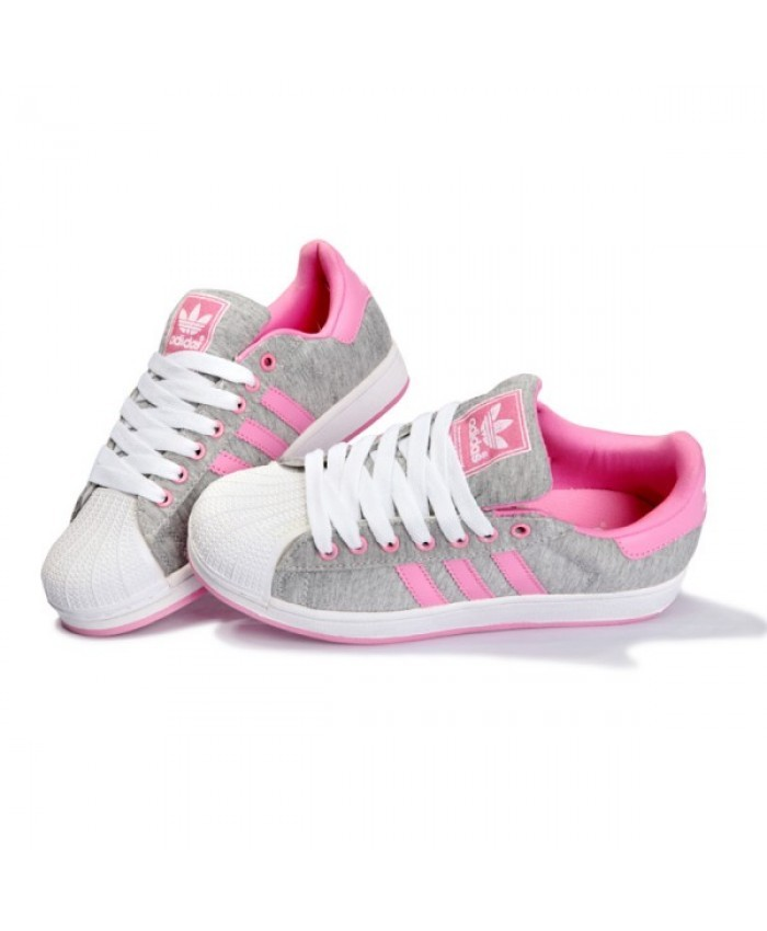 basket superstar adidas femme rose