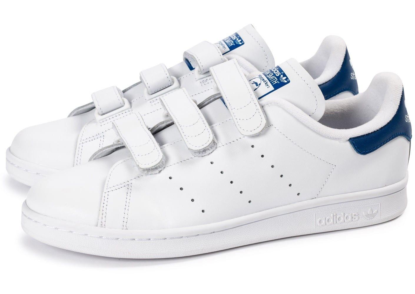 stan smith bleu scratch femme adidas