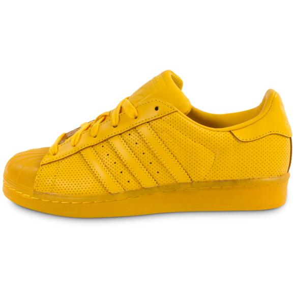 adidas superstar femme jaune online