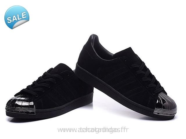 superstar femme adidas noir