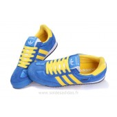 adidas dragon bleu et jaune