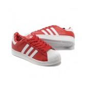 adidas superstar rouge et blanc